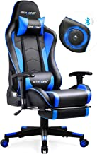 GTRACING Gaming Chair with Speakers & Footrest Bluetooth Video Game Chair Heavy Duty Ergonomic High-Back Computer Office D...