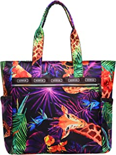 Handbag Shoulder Bags Tote Bag Waterproof Large Lightweight Travel Totes Gym Totes for Gym Hiking Picnic Travel Beach (Giraffe TB)