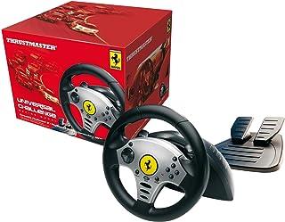 عجلات السباق فيراري يونيفرسال تشالنج 5 في 1 من ثرست ماستر 2960700 متوافقة - الكمبيوتر الشخصي / PS2 / PS3 / مكعب الألعاب / وي