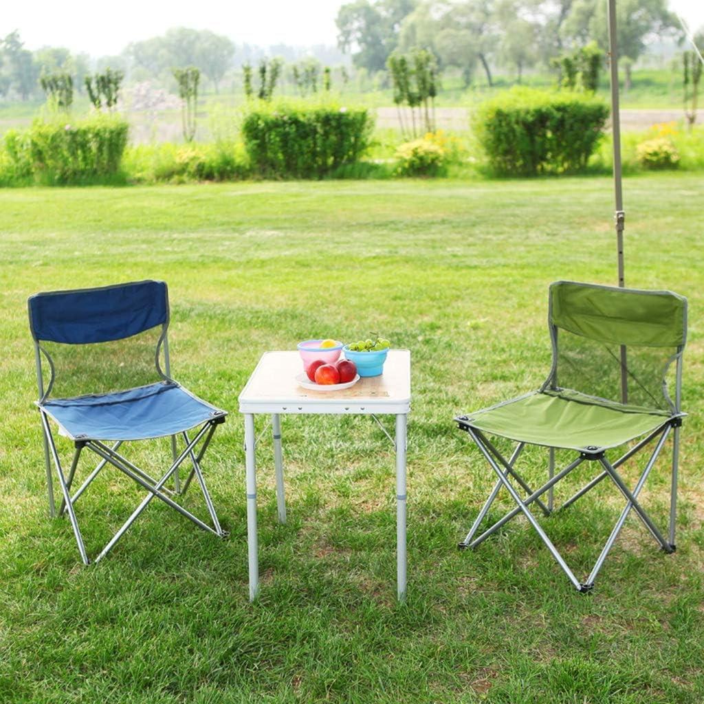 Chaise Longues Pliant Chaise De Camping Poids Léger Compact Portable Festival La Pêche En Plein Air Siège De Voyage, 4 Couleurs (Color : Green) Red