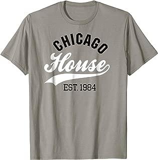 Vintage Chicago house est. 1984 DJ T-Shirt