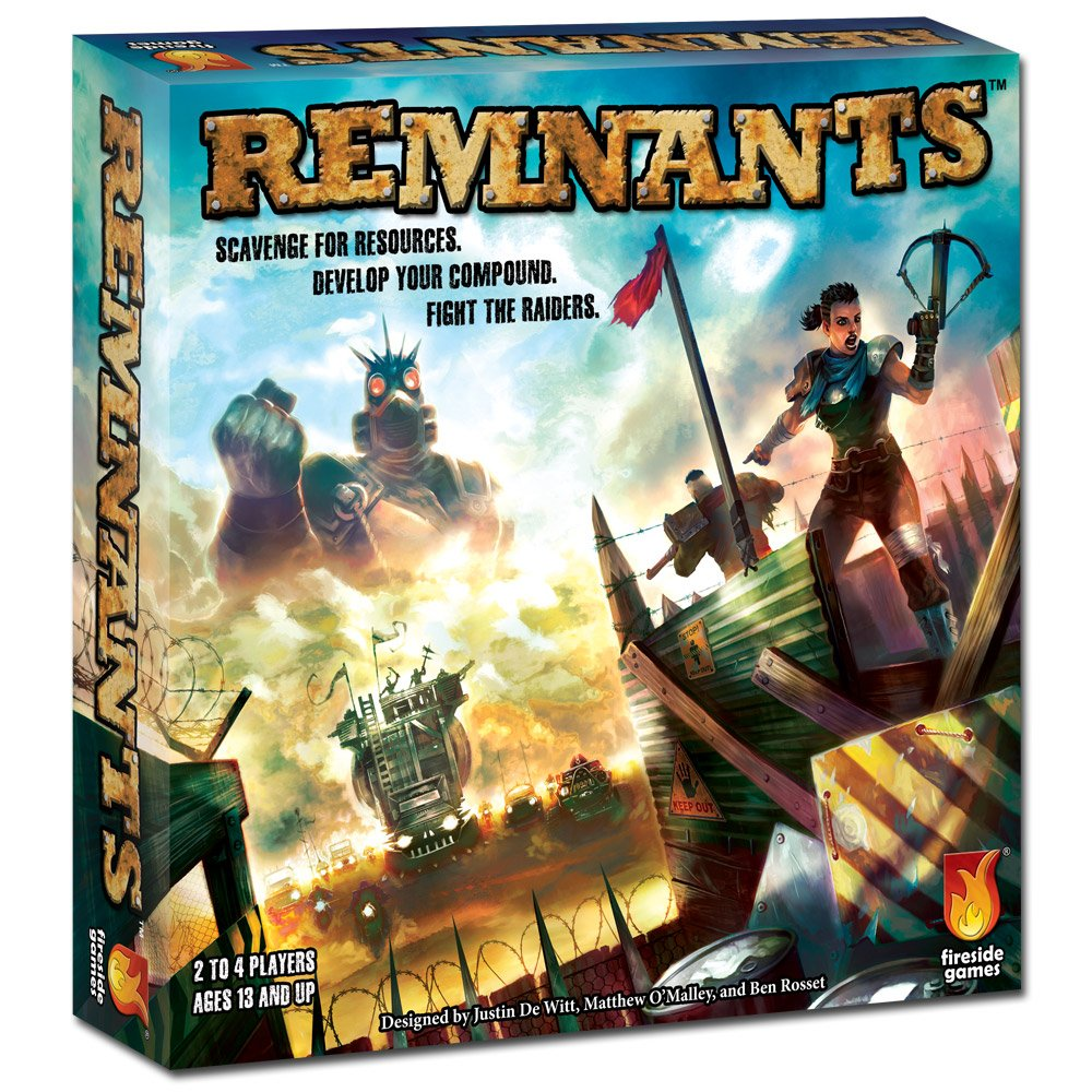Fireside Games Remnants Board Game - Board Games For Families - Board Games For Kids 10 And Up