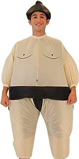 Sumo Wrestling Wrestler Inflatable Chub Suit Costume