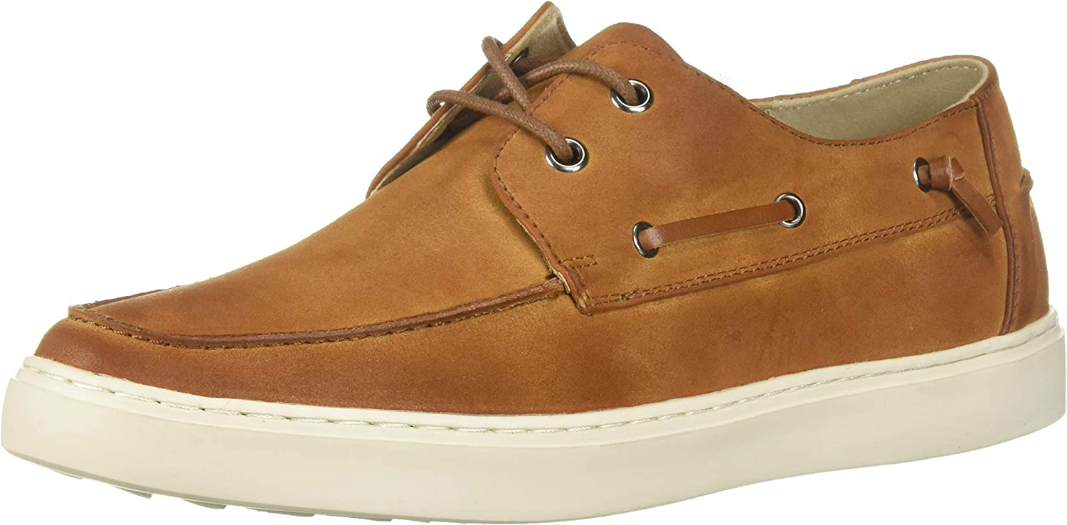 Kenneth Cole REACTION Men's Indy Boat shoes tan 8 M US