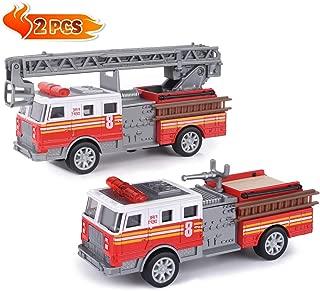 Fire Trucks Toy Vehicle Set, 2 Pack 5
