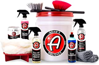 Adam's Daily Driver Detailing Kit - Detail Your Entire Vehicle Efficiently and Effectively - Designed to Clean, Shine, and Protect Your Daily Driver