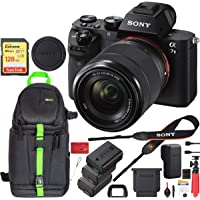 Deals on Sony Alpha a7II Mirrorless w/28-70mm + 128GB Card Kit