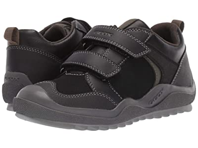 Geox Kids Jr Artach 2 (Little Kid/Big Kid) (Black/Green) Boys Shoes