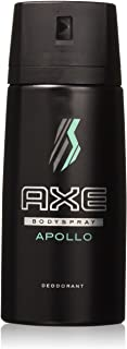 AXE Body Spray Deodorant Apollo 150 Ml / 5.07 Oz (Pack of 6)