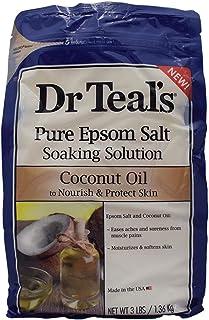 Dr. Teal's Epsom Bath Salt Soaking Solution Coconut Oil, 1.36Kg