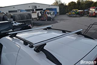 Bragan BRA3227SCB Aluminium Alloy Roof Rails Cross Bars