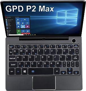 [セット品]GPD P2 MAX プレミアムパックOffice付き(インテル第8世代Core m3-8100y/16GBメモリ 512GB NVMe M.2 SSD /WPS Office/オリジナルケース/日本語説明書)