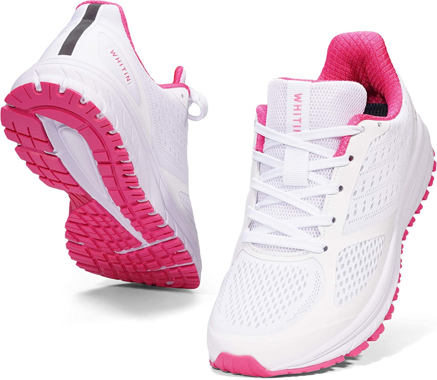 WHITIN High quality Women's High material Running Shoes Sneakers Walking Breathable