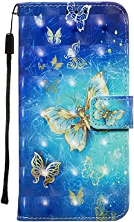PU Leather Flip Cover Compatible with Samsung Galaxy S20 Ultra, Elegant butterfly2 Wallet Case for Samsung Galaxy S20 Ultra