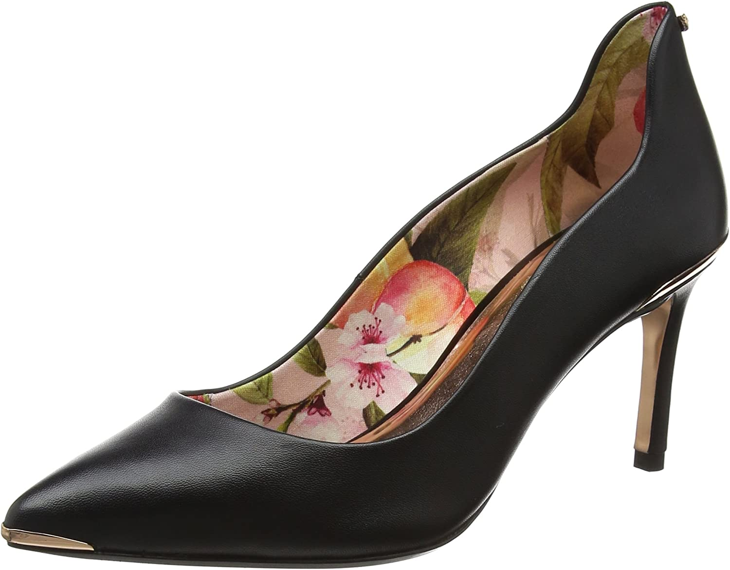 Ted Baker Vyixyn 2 - Black Leather Womens Heels