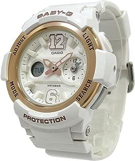 Casio Women BGA210-7B3 Year-Round Analog-Digital Automatic White Watch