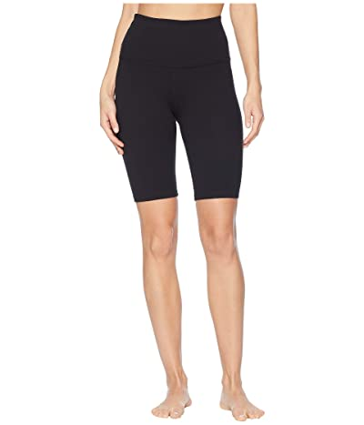 Beyond Yoga Supplex High-Waisted Biker Shorts (Jet Black) Women