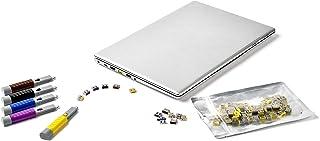 HIDISC SmartKeeper ESSENTIALシリーズ USBポートロック 6個 プラス ロック解除キー(Lock Key Basic) セット ダークブルー HD UL03PKDB