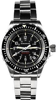 Marathon - ww194006 gsar cuestión militar Swiss Made Diver reloj automático esfera estéril con Tritium