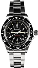 Marathon Watch WW194006BRACE-NGM GSAR Swiss Made Military Issue Diver's Automatic Watch with Tritium (41mm,Stainless Steel Bracelet, No Government Markings)