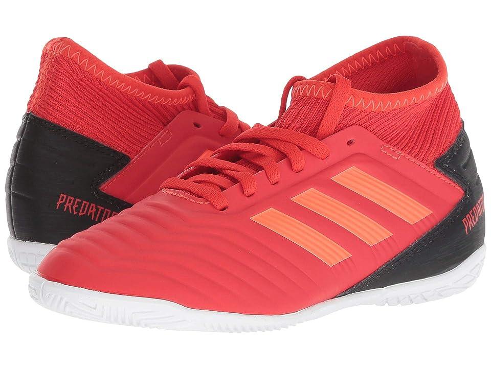 adidas Kids Predator 19.3 IN Soccer (Little Kid/Big Kid) (Active Red/Solar Red/Black) Kids Shoes