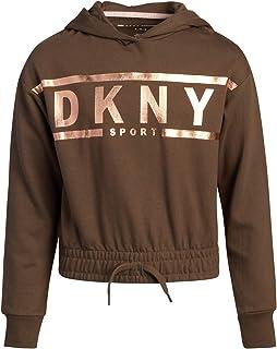 DKNY Girls Sweatshirt - Fleece Pullover Hoodie