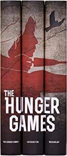 Juniper Books Hunger Games Trilogy Book Set with Custom Dust Jackets