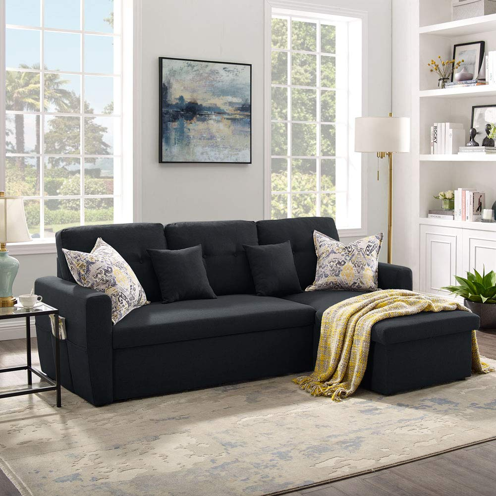 Amazon.com 20 Seater Sofa Bed with Storage, Tribesigns 20.20 ...