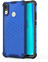 Huawei Y9 2019 Case, Futanwei Four Corner Thickening Transparent Armor Dual Layer Ultra Thin Shockproof Non-Slip [Hard PC + Soft Rubber] Protective Case for Huawei Y9 2019/Enjoy 9 Plus 6.5