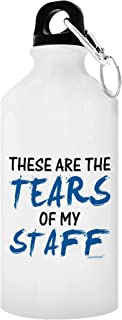 ThisWear Boss Appreciation Gift Tears of My Staff Office Humor Boss Gag Gift for Boss Supervisor Coworker Gifts Gift Aluminum Water Bottle with Cap & Sport Top