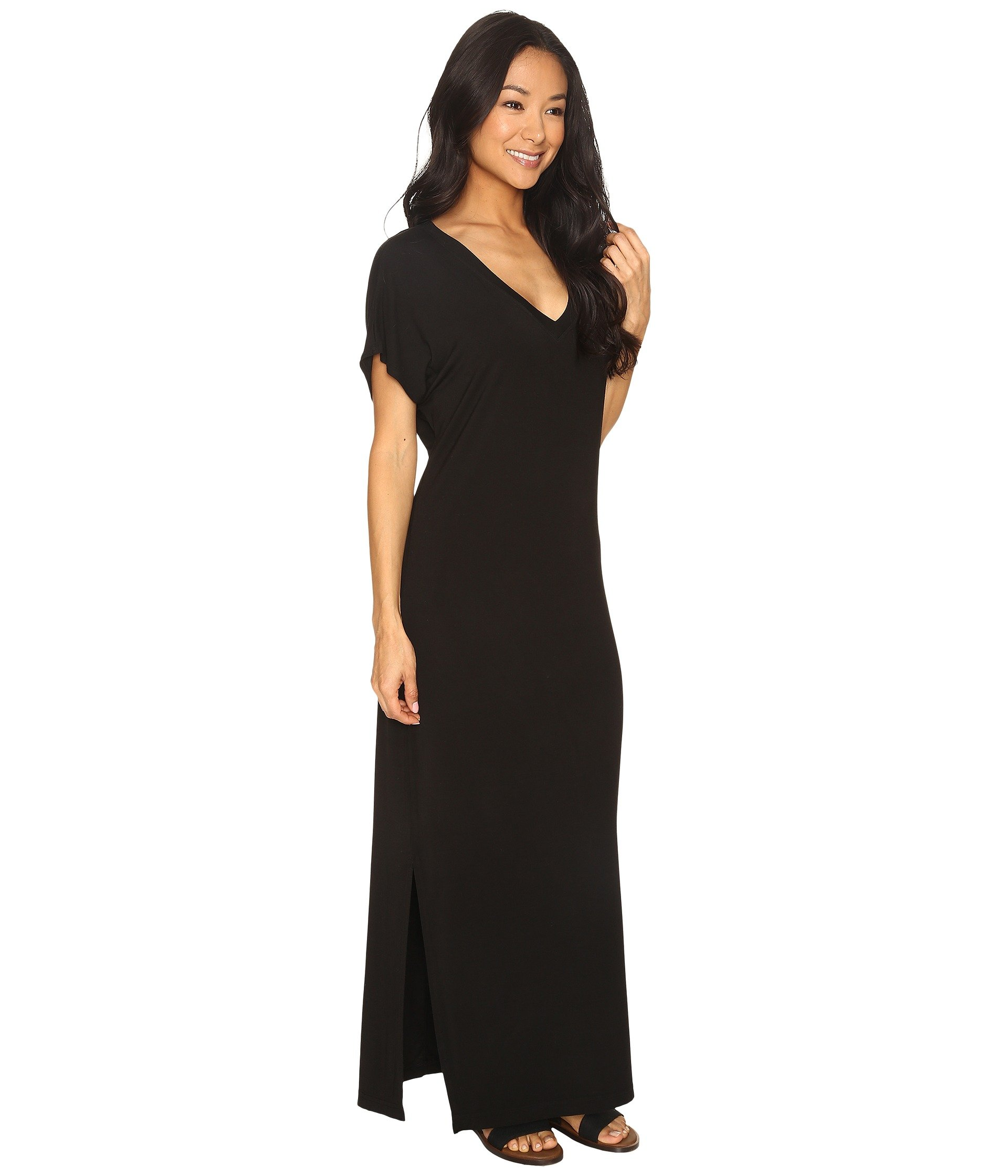 Maxi Tail Tee Every Hard Dress Day Black na7qcPp1
