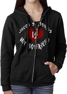 MIANBAO Women's Jacob Sartorius is My Boyfriend Hoodies Black