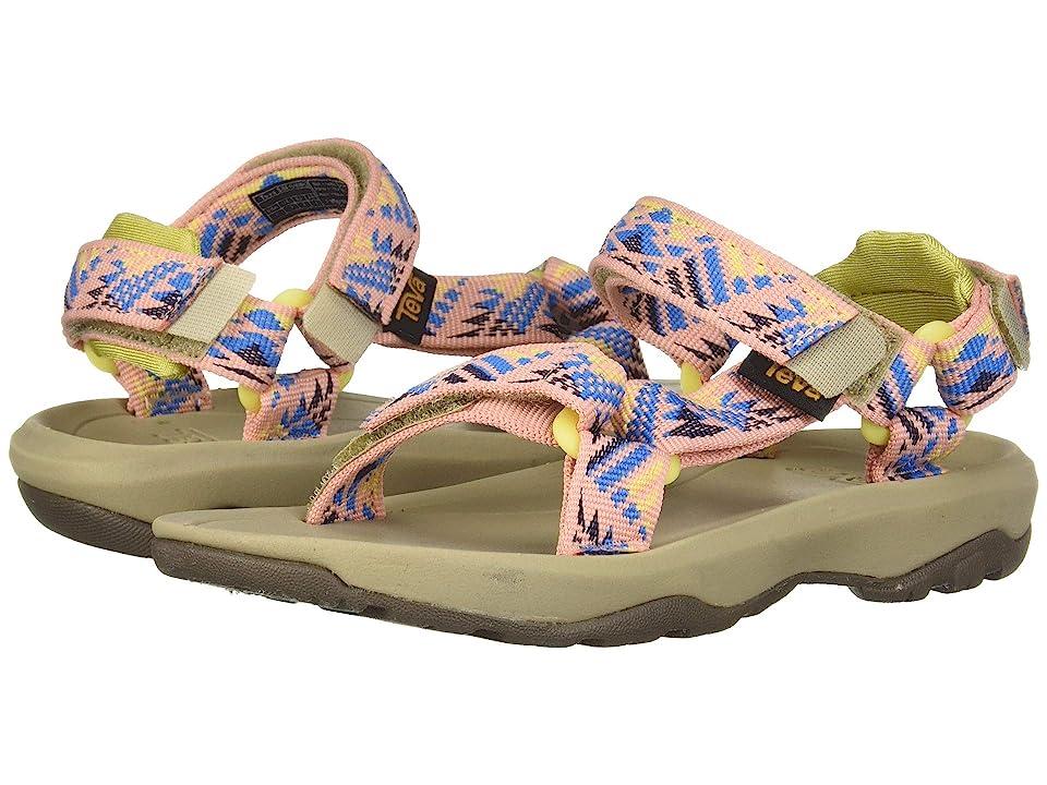 Teva Kids Hurricane XLT 2 (Little Kid/Big Kid) (Boomerang Apricot Blush) Girls Shoes