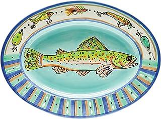 11-1//2 x 6-1//4 Box of 12 11-1//2 x 6-1//4 CAC China RE-RT13 Stoneware Rectangular Platter American White