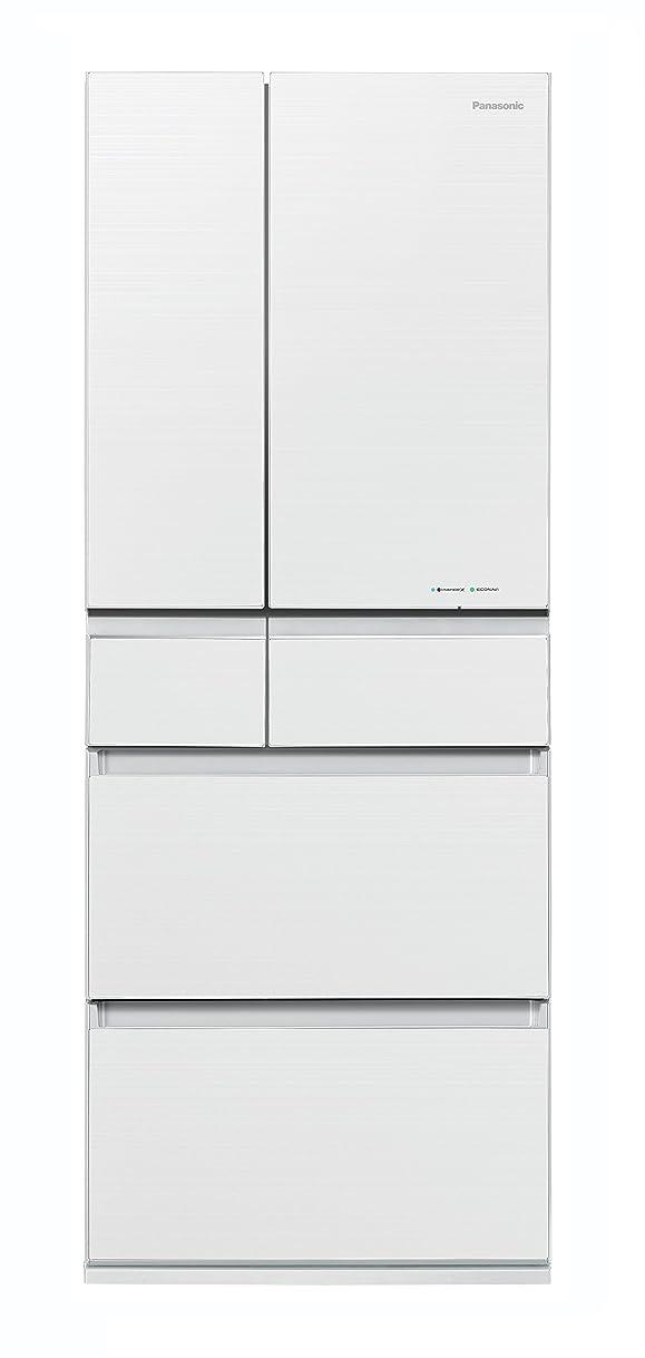 ベット翻訳誕生日パナソニック 冷蔵庫 6ドア 450L パーシャル搭載 マチュアホワイト NR-F454HPX-W