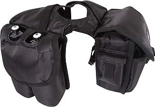 Cashel Quality Deluxe Medium Horse Saddle Pommel Horn Bag, Insulated Padded Pockets, Two Water Bottle Pockets, Camera or C...