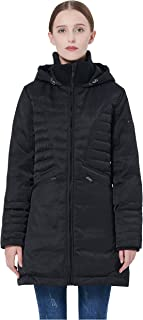 Women's Puffer Thickened Down Jacket Winter Hooded Coat