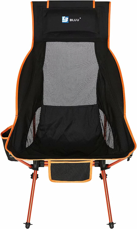 Omaha Mall BLUU Ultralight Foldable Camping Chairs Direct store Camp Portable C Folding