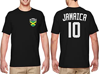 HAASE UNLIMITED Jamaica Soccer Jersey - Jamaican Men's T-Shirt