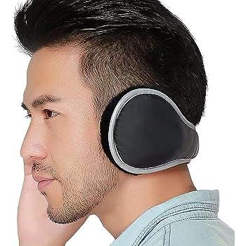 Ear Warmers Waterproof Unisex Winter Fleece Earmuffs for Men Women  Adjustable Ear Muffs (Black) at Amazon Men's Clothing store