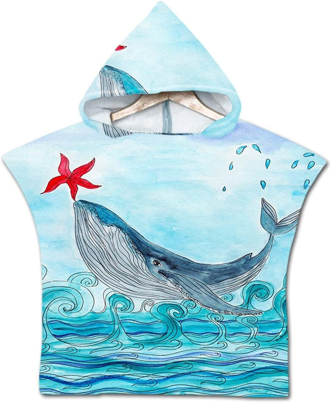 Genuine Free Shipping QIUMIN Summer Under The Max 67% OFF Sea Dolphin Whale Mermaid Fish B Octopus