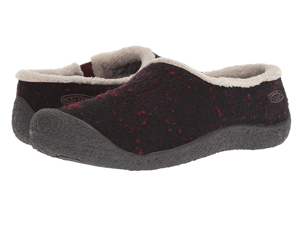 Keen Howser Slide Wool (Fried Brick/Raven) Women