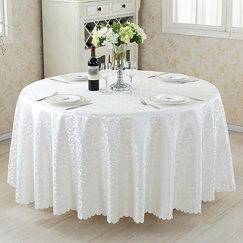 European Style Restaurant Speisetisch Tuch Aktivit n Platz Clubhaus Bankett Chemische FaserGröße Optional ( Farbe    1 , Größe   Round-380cm )