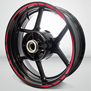 Rapid Outer Rim Liner Stripe for Kawasaki Ninja 300 Reflective Red