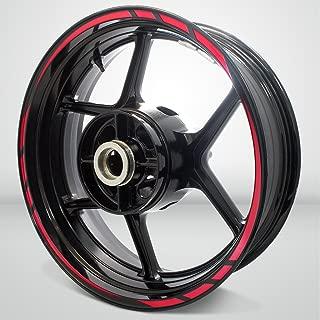 Rapid Outer Rim Liner Stripe for Suzuki GSXR 750 Reflective Red