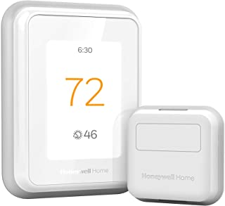 Honeywell Home RCHT9610WFSW2003 T9 WiFi Thermostat with 1 Smart Room Sensor, Touchscreen Display, Alexa and Google Assist,...