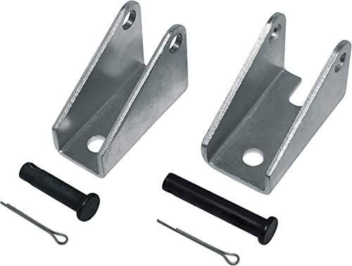 Mounting Bracket Set BRK-15 for Linear Actuator | Made from Iron Steel | Can be Used with Progressive Automations Lin...