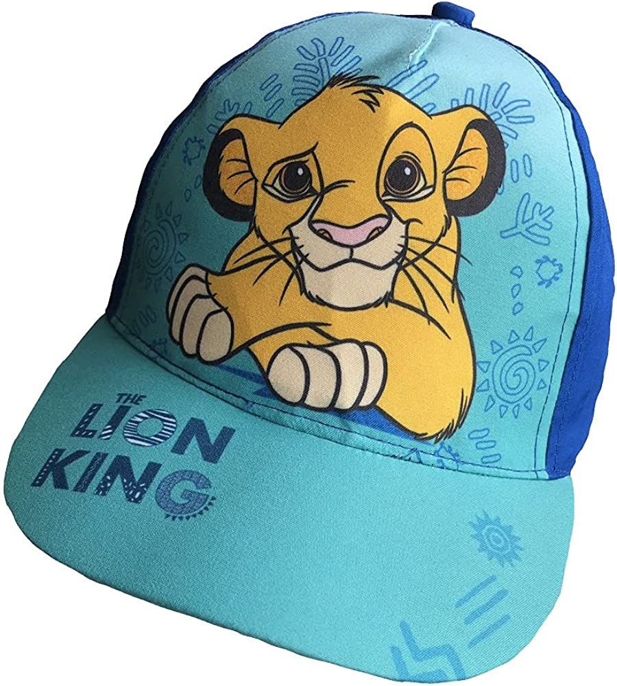 Lion King Baseball Cap Safety and trust Turquoise Dark Blue 2021 spring and summer new