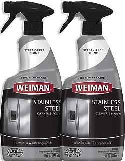 Best wyman's stainless steel cleaner Reviews