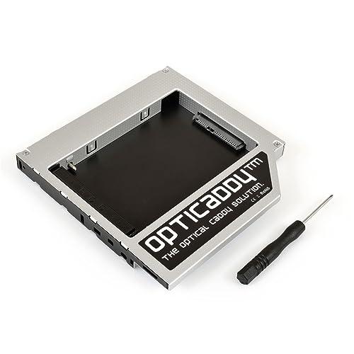 """Opticaddy© SATA-3 HDD/SSD Caddy Adaptateur pour Apple iMac (2009, 2010, 2011) et Mac Mini (2009, 2010) - remplace le lecteur optique, est livré avec la technologie """"de OptiSpeed"""" (original Opticaddy)"""